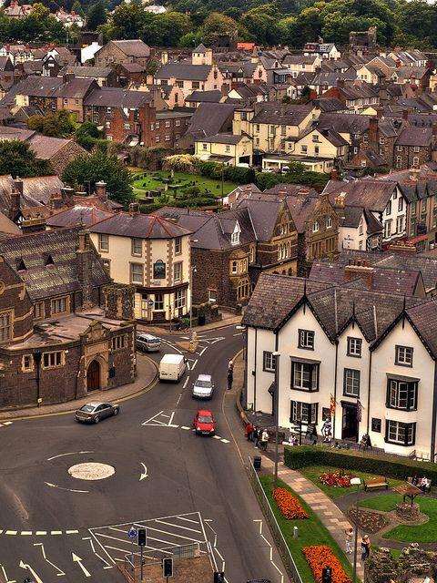 Conwy,North Wales by Jan Špatina, via Flickr