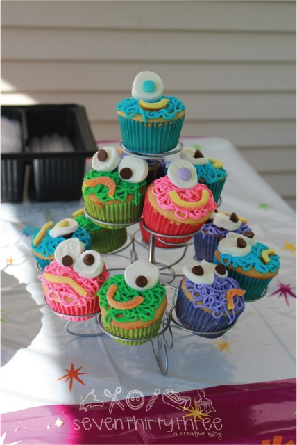 Cute Monster Party Theme