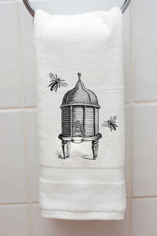 Beehive hand towel.  Gift Wrappers