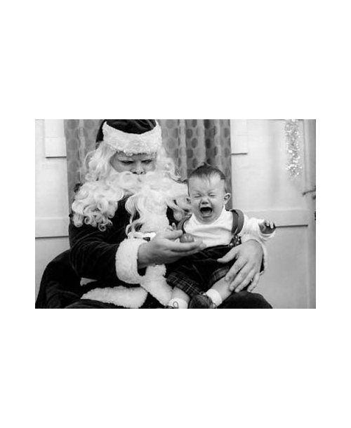 Funny Photos With Santa: ho, ho, nooooo