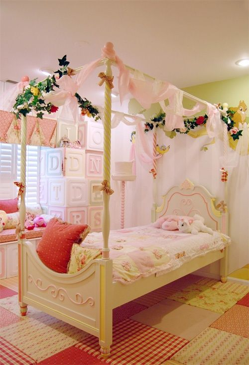 sweet bed room for kids