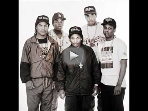 """N.W.A. - Express Yourself - To me, it seems like this is the best N.W.A.'s song, just cause it gives lessons to the youth. Haha, Dre says about weed """"cause it gives nothing but a brain"""