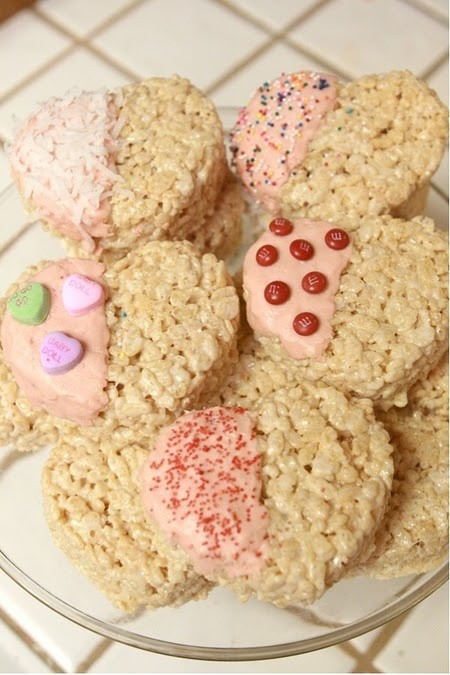 Cute valentine treat idea
