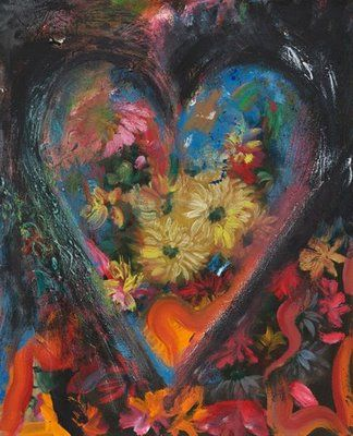 Happy Valentines Day - Heart by Jim Dine