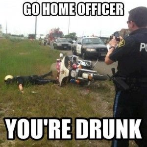 Go home officer youre drunk 300x300 photo