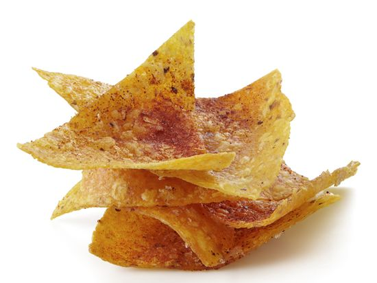 Baked Chili Tortilla Chips
