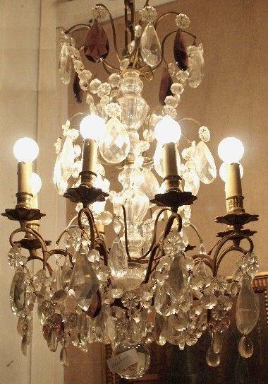 Antique Parisian Chandelier