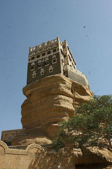 (Rock Palace) - Yemen