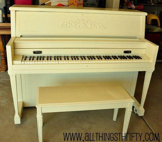 DIY Furniture  : DIY Piano Refinishing