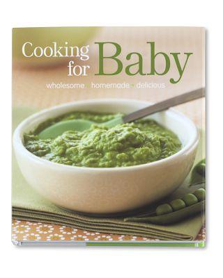 Baby food cookbook