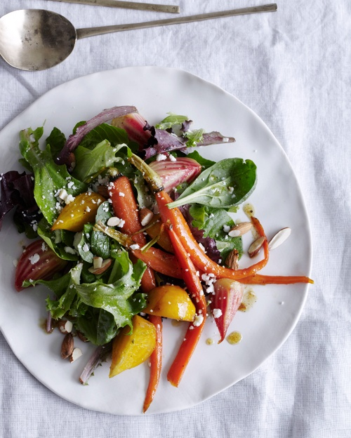 Glazed Baby Beet and Carrot Salad with Cumin Dressing // More Delicious Summer Salads: www.foodandwine.c... #foodandwine