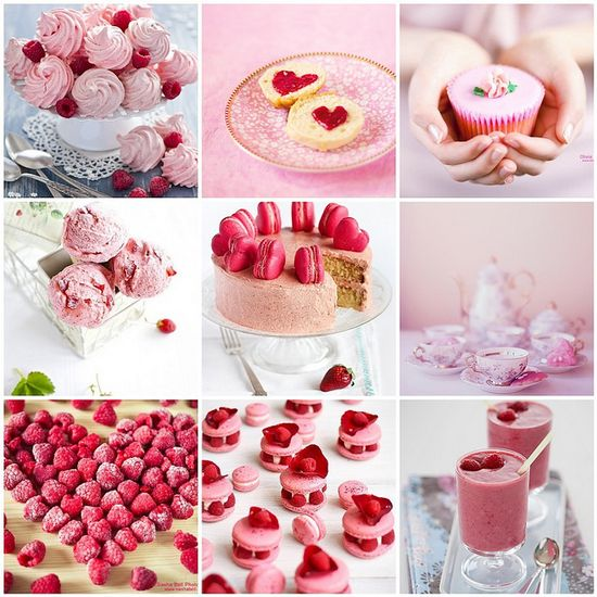 Pink Food Photography