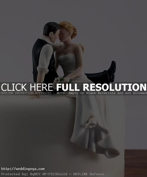 romantic wedding topper