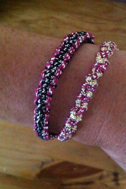 DIY easy friendship bracelet tutorial.