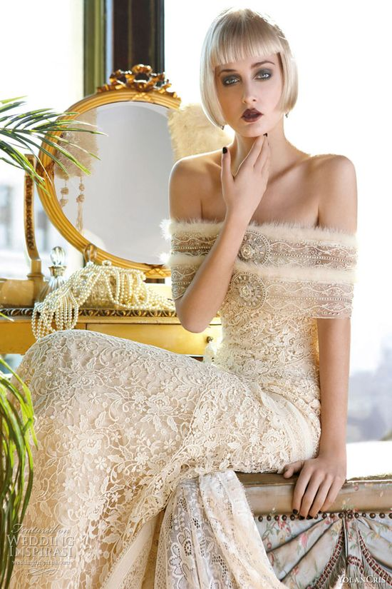 YolanCris 2013 Wedding Dresses — Mademoiselle Vintage Bridal Collection