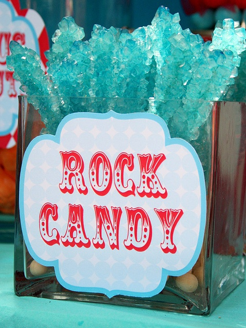 rock candy, turquoise