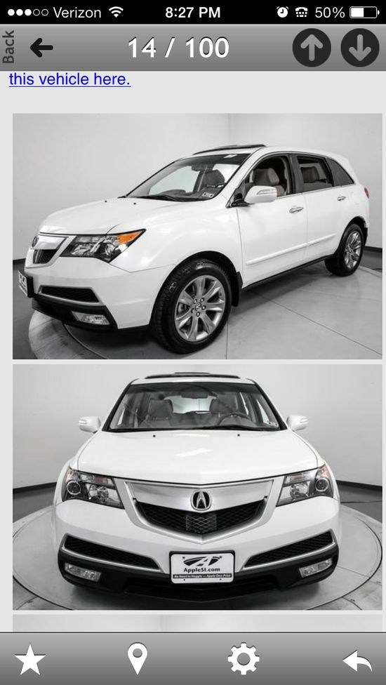 Yes please!  Dream car.  Acura MDX
