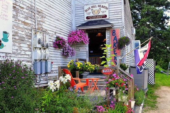 Bakery, Blue Hill, Maine by Ray Fausel, via Flickr