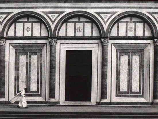 GIANNI BERENGO GARDIN Firenze, San Miniato, 1967 Stampa ai sali d'argento