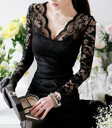 black lace ao dai