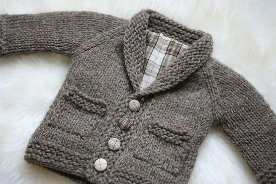 10 abrigos tejidos en crochet para bebés - Padres e Hijos