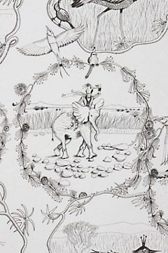 Kalahari Vignettes Wallpaper