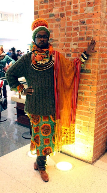 African Prints in Fashion: A Night at the Museum