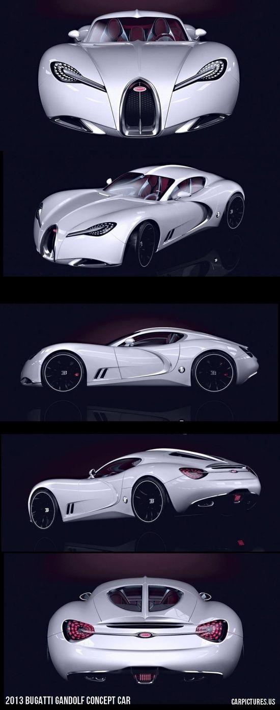 2013 Bugatti Gandolf Concept Car...