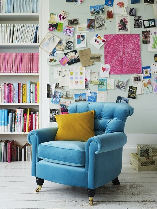 inspiration wall & studio #Desk Layout