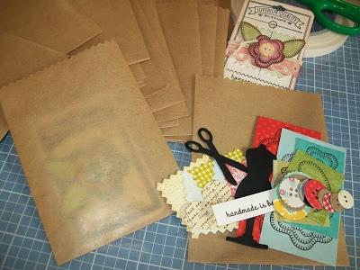 Nothin says lovin - handmade craft kit contents