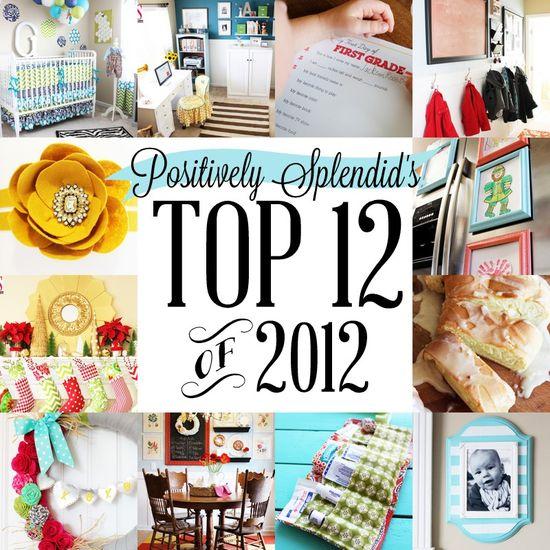 Top 12 of 2012 creative projects www.PositivelySpl...