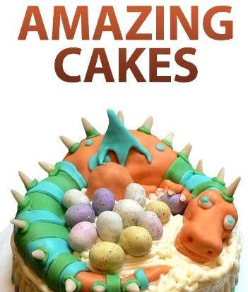 FREE e-Cookbook: Amazing Cakes  #cake #recipes