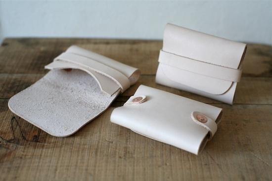Folded card wallet