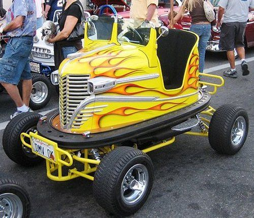 Cool bumper cars