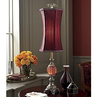 Hawthorne Table Lamp - For the lamp shade idea.