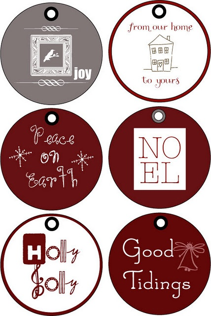printable gift tags :)