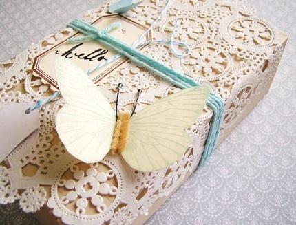 Butterfly & Doily