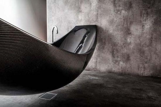 Vessel Bathtub - Interior Design by Splinter Works