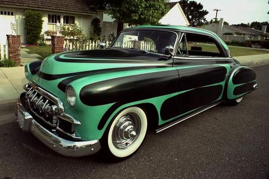 1950 Chevy, one bad ride!