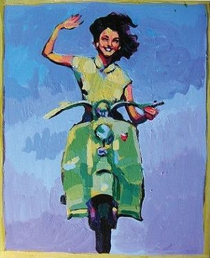 motorbike....
