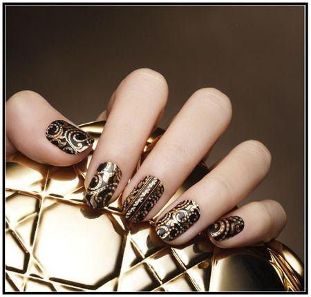 nail art ideas: Home Nail Art