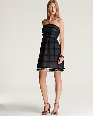 I like dresses. especially ones with ruffles. And ones by Marc By Marc Jacobs.