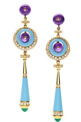 Purple and Turquoise Bulgari