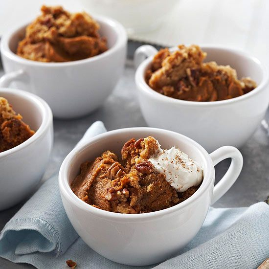 Get all the spiced goodness of #pumpkin pie without all the work. More pumpkin #desserts: www.bhg.com/...