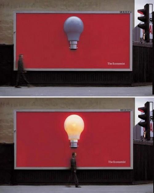 Ad for The Economist