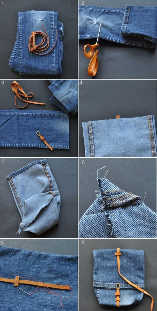 Denim Bag / Backpack