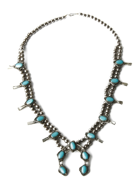 Amazing turquoise squash necklace on R29Shops!