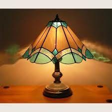 leadlight lamp