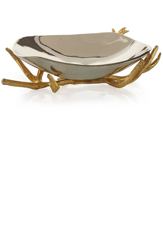 Luxury Christmas Gifts Ideas, Designer Golden Branch With Aluminium Bowl, Trending Hollywood Interior Design Ideas, For Luxury Homes, Living Rooms, Bedrooms, Dining Rooms, Bathrooms. Over 3,500 Luxury Furniture, Lighting, Home Decor, Accents & Gift Inspirations to enjoy, pin, blog, share and inspire your friends and followers with, courtesy of InStyle Decor Beverly Hills with our easy 1 Click Pinterest Pin Button enjoy & happy pinning