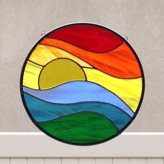 Stained Glass Rainbo